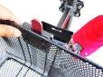 画像2: ワンタッチ式 前カゴ ボードバイク専用アフターパーツ 電動キックボード (2)