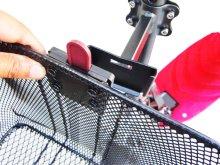 詳細写真2: ワンタッチ式 前カゴ ボードバイク専用アフターパーツ 電動キックボード