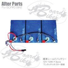 詳細写真3: 標準鉛バッテリー36V/12Ah ボードバイク専用アフターパーツ 電動キックボード