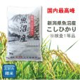 画像2: 新潟県 魚沼産 無洗米 こしひかり 5kg×1袋 令和2年産 特A米 (2)