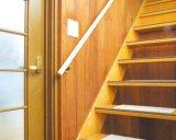 手摺り棒 ジョイント式 3.6m 天然木使用 階段 廊下 横付用