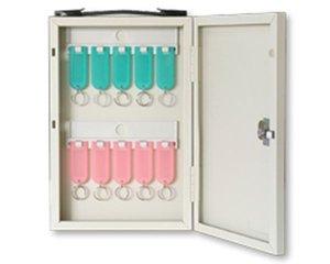 画像1: キーボックス 10本用 壁掛け携帯兼用タイプ