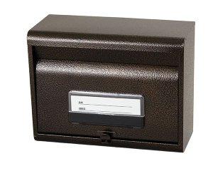 画像1: 郵政型 郵便ポスト SGE-80 エンボスブラウン