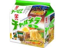 詳細写真1: 明星 チャルメラ 塩ラーメン 5食×6入/1箱