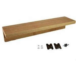 画像2: 壁掛けシェルフ 400mm 石膏ボード用 小物棚