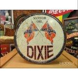 ブリキ看板 Dixie Gas オイルカンパニー