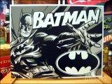 ブリキ看板 バットマン ツートンカラー