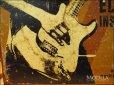 画像3: ブリキ看板 フェンダー ギター ロック奏者 (3)