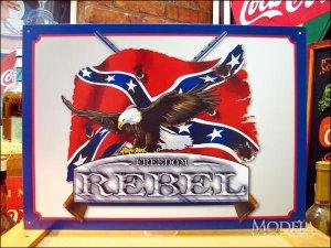 画像1: ブリキ看板 FREEDOM 自由 REBEL