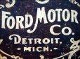 画像3: ブリキ看板 フォード 歴史的なロゴ (3)