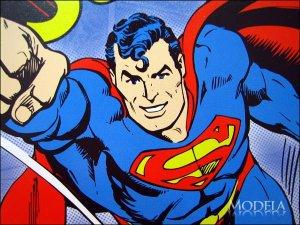 画像3: ブリキ看板 スーパーマン コミック
