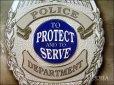 画像3: ブリキ看板 リアルヒーロー 警察官 (3)