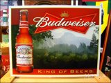 ブリキ看板 バドワイザー King Of Beer