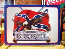 詳細写真1: ブリキ看板 FREEDOM 自由 REBEL
