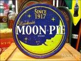 ブリキ看板 Moon Pie 丸型看板 ムーンパイ