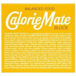 画像1: 大塚製薬 カロリーメイト ブロック プレーン 4本入×10