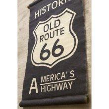 詳細写真1: アンティークタペストリー  historic route66 017 ショート