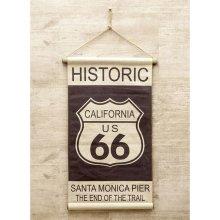 詳細写真2: アンティークタペストリー  historic california66 018 ショート