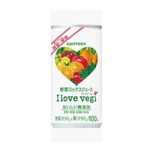 画像1: サントリー I love vegi アイラブベジ 190g缶 30本入1箱