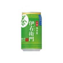 詳細写真1: サントリー 伊右衛門緑茶 340g缶 24本入1箱