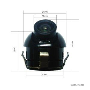 画像2: 防水 暗視 サイドカメラ【STA-BC8】DC12V用 CCD 720*540 / 170°