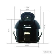 詳細写真2: 防水 暗視 サイドカメラ【STA-BC8】DC12V用 CCD 720*540 / 170°