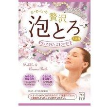 詳細写真1: お湯物語 贅沢泡とろ ティアラジャスミンの香り 1包30g 入浴剤
