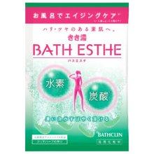 詳細写真1: バスクリン きき湯 バスエステ クリアハーブの香り 1包 入浴剤