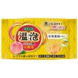アース 温泡 こだわり桃 炭酸湯 甘熟黄桃 5錠セット 入浴剤