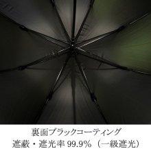 詳細写真2: デザイン傘 ジャンプ傘 スカーフチェーン柄 58cm グリーン /2018春夏