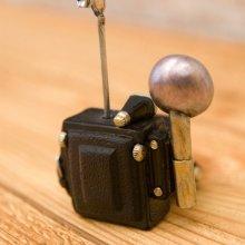 詳細写真2: オールディーズ カードスタンド レトロカメラ