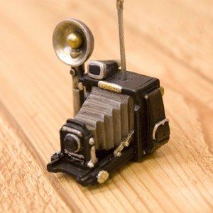 画像2: オールディーズ カードスタンド レトロカメラ