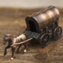 詳細写真1: アンティークシャープナー 幌馬車 鉛筆削り