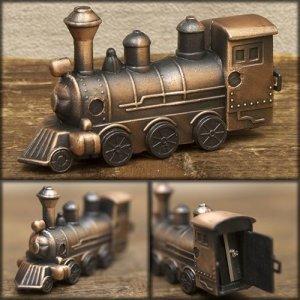 画像1: アンティークシャープナー SL 機関車 鉛筆削り