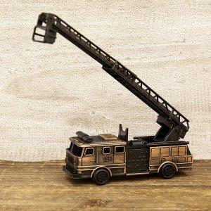 画像1: アンティークシャープナー ファイヤートラック はしご車 鉛筆削り