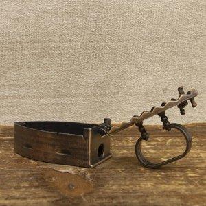画像3: アンティークシャープナー アイロン 鉛筆削り