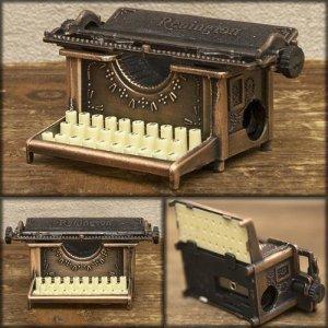 画像1: シャープナー タイプライター / 鉛筆削り ミニチュア