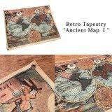 レトロタペストリー 地図 Ancient Map JZ16529