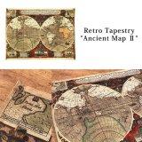 レトロタペストリー 地図 Ancient Map JZ16531