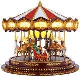 Mr.Christmas デラックス メリーゴーランド オルゴール Christmas Deluxe Carousel 14782