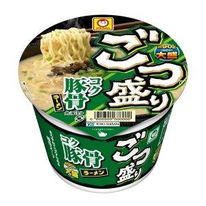 画像1: マルちゃん ごつ盛り コク豚骨ラーメン 115g×12入 1箱 東洋水産