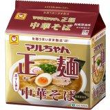 マルちゃん 正麺 中華そば 和風醤油味 5食×6パック× 1箱