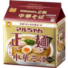 詳細写真1: マルちゃん 正麺 中華そば 和風醤油味 5食×6パック× 1箱