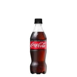 画像1: 「2cs」コカ・コーラゼロシュガー 500mlPET×24×2箱