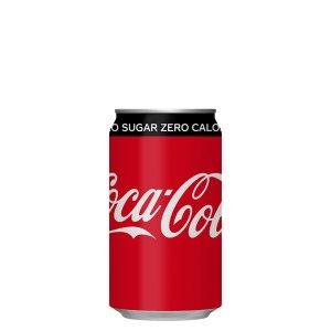 画像1: コカ・コーラゼロシュガー 350ml缶×24×1箱