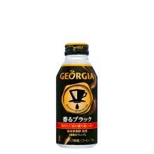 詳細写真1: ジョージア香るブラック ボトル缶 400ml×24×1箱