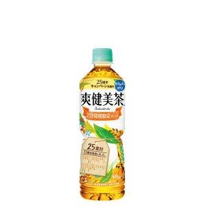 画像1: 「2cs」爽健美茶 PET 600ml×24×2箱