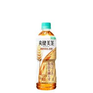 画像1: 爽健美茶 健康素材の麦茶 PET 600ML×24×1箱